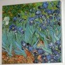 Irises 500 Piece Jigsaw Puzzle Flowers Vincent Van Gogh COMPLETE 1991