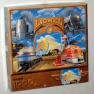 Lionel Electric Trains 1000 Piece Jigsaw Puzzle Springbok PZL6201 Railroading Hallmark COMPLETE