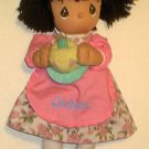 Precious Moments August 12 Inch Plush Doll Birthday Cake Roses Dress Outfit 2005