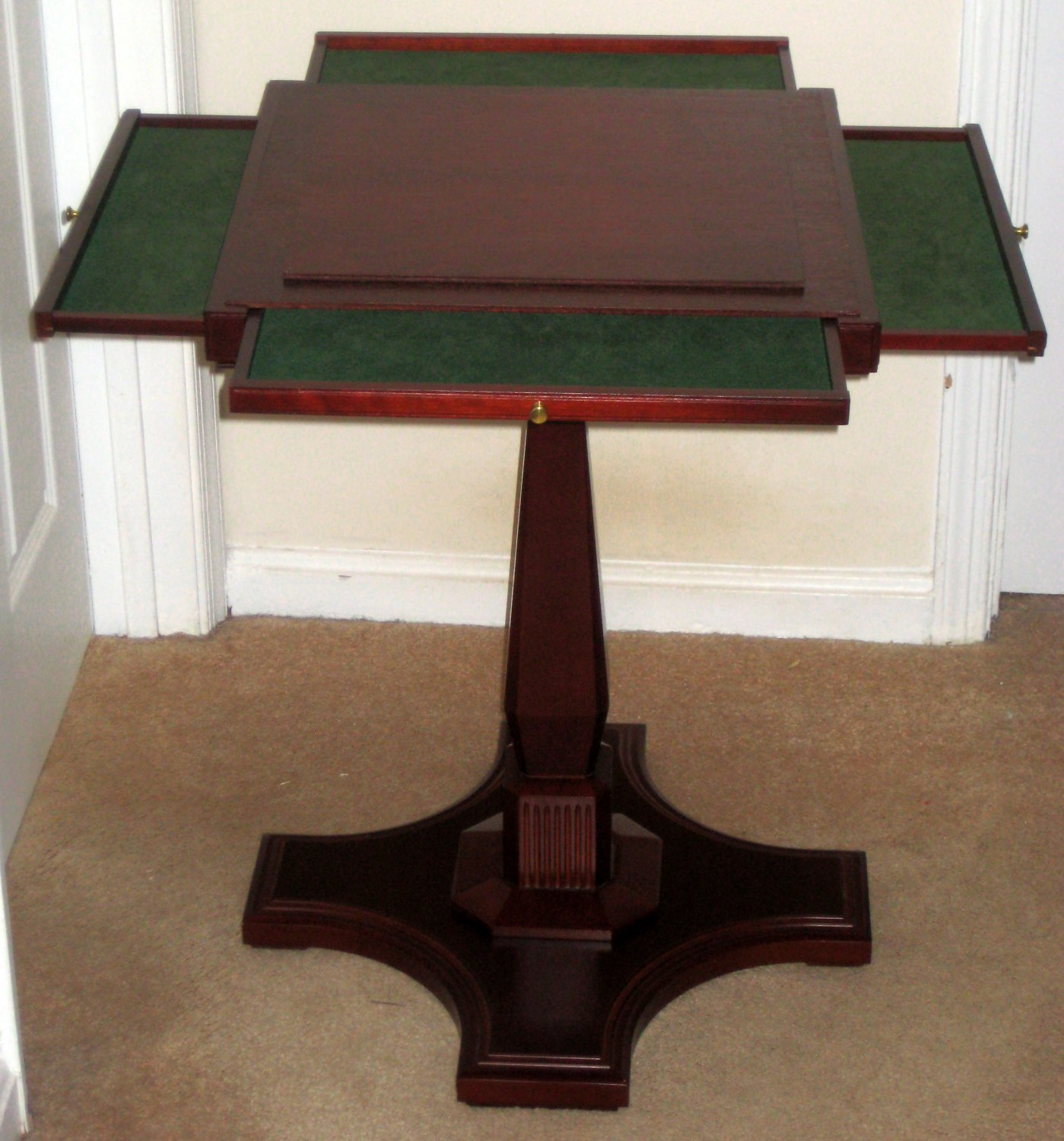 Sold Franklin Mint Deluxe Monopoly Pedestal Table Stand