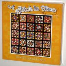 A Stitch in Time 750 Piece Jigsaw Puzzle Mosaic Stars Quilt Ceaco 2937-1 SEALED 2000