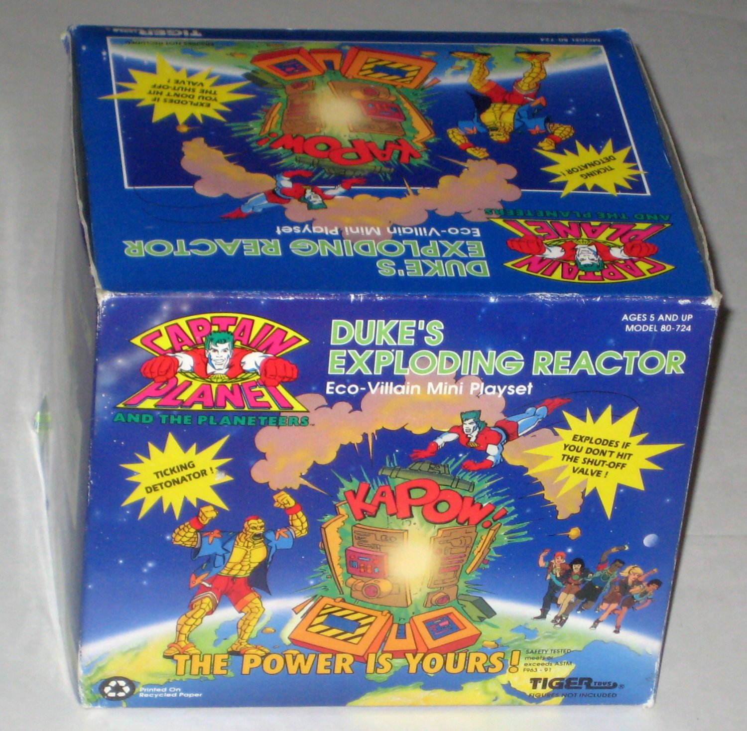 Captain Planet And Planeteers Dukes Exploding Reactor Eco