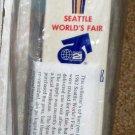 Seattle 1962 World's Fair Wooden 12 Inch Space Needle Pen Century 21 Exposition MIB