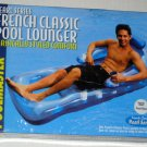 French Classic Swimming Pool Lounger Pearl Blue Series Poolmaster 85661 Raft Float NIB