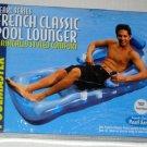 French Classic Swimming Pool Lounger Pearl Blue Series Poolmaster 85661 Raft Float NIB