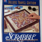 Deluxe Travel Edition Scrabble Game 1990 Mini Wooden Tiles Milton Bradley 4121 Complete