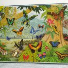 Flying Rainbows 1500 Piece Jigsaw Puzzle Butterflies James Hamilton DeLuxe FR1 1503 Sealed
