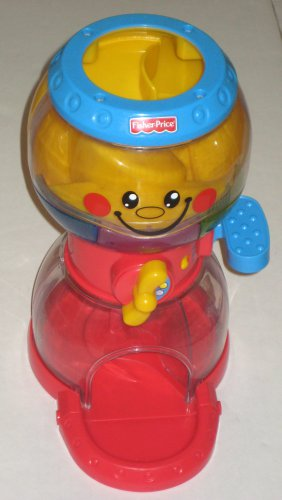 SOLD Fisher Price Swirlin' Surprise Musical Gumball Machine with 4 Roll-a-Rounds Balls