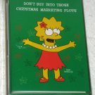 The Simpsons Christmas Cards Box of 18 with Envelopes Lisa Simpson Greeting Holiday Fox TV NIP
