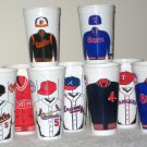 ICEE Plastic Drink Cup Lot MLB Major League Baseball 11 Different Team Logos Jerseys World Series