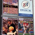 Pro Set Super Bowl XXV 25 Football Card Album Collector's Edition All Time Team 1990 Bills Giants