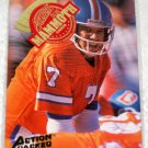 John Elway Action Packed Football Mammoth Card MM6 Factory Sealed 1994 Denver Broncos #2267 + Milk