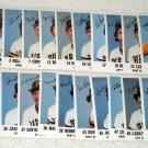 Pittsburgh Pirates 1984 Team Issue Baseball Photo Cards Stadium Giveaways