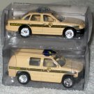 Golden Wheels 1:64 Scale Die-Cast Maryland State Police Crown Victoria Chevy SUV Diecast Cars