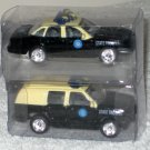 Golden Wheels 1:64 Scale Die-Cast Florida State Police Crown Victoria Chevy SUV Diecast Cars