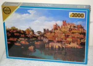 Buildings of the National Trust 2000 Piece Jigsaw Puzzle Falcon Games Imperial De-Luxe 10064 SEALED