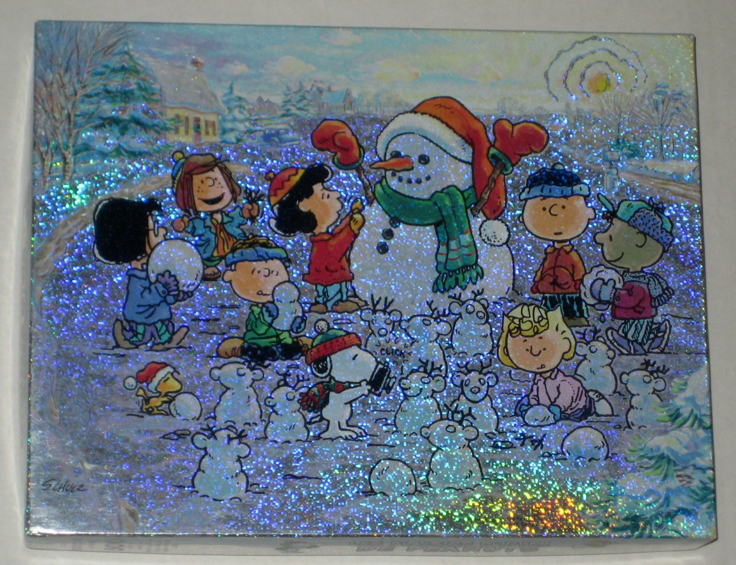 Sold Peanuts Winter Wonderland 500 Piece Springbok Jigsaw Puzzle