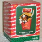 McDonald's French Fry Fries Holiday Ornament Enesco 577545 Bear Twas the Night Before Christmas 1990