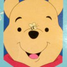 Winnie the Pooh Close Up Face Decorative Garden Flag Applique Bee Walt Disney1997