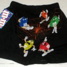 M&M's Boxer Shorts Boxers Underwear Medium Happy Halloween Black Green Blue Orange Yellow Red NWT