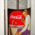 Coca Cola Straw Holder Dispenser Glass Have a Coke Soda Fountain