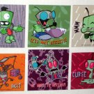 Invader Zim Magnet Lot Refrigerator Gir Dog Biscuit Cupcake Destroy Viacom C&D Visionary