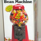 The Jelly Belly Bean Machine 11 Inch Gourmet Candy Dispenser Coin Money Bank Glass Metal