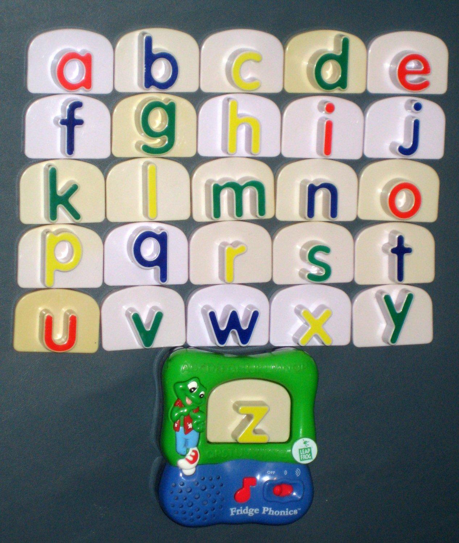 ... Lower Case Letter Complete Set + Unit ABC Alphabet Leap Frog Magnetic