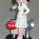 Betty Boop Coca-Cola Navy Outfit Figurine Limited Edition Naval Uniform Figure Vandor 11355 Coke NIB