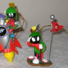 Marvin the Martian Lot Bobblehead PVC Figure Koosh Pen Magnet Ornament Keychain Looney Tunes Candles