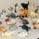 Cats of Character Figurines Complete Collection of 25 Danbury Mint Fine Bone China Kitten Figures