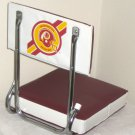 Washington Redskins Football Folding Bleacher Seats NFL Padded Stadium Cushions Vinyl Burgundy Gold