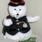 Sam the Snowman 7 Inch Plush Bean Bag Rudolph Island Misfit Toys Stuffins 1999 NWT Stuffed Toy