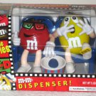 M&M&#39;s Candy Dispenser At the Movies 3D Glasses Yellow Red Blue Version NIB