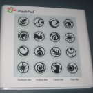 Used FlashPad Flash Pad Electronic Light & Touch Games Toy Element Company