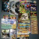 Lego Bionicle Technic Instruction Manual Book Booklet Lot Posters Comic Book