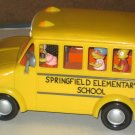 Simpsons Talking School Bus Springfield Elementary Otto Bart Milhouse Ralph Martin Playmates Toys