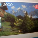 Super Big Ben The Dolomites Italy 2000 Piece Jigsaw Puzzle 4565-21 MB Milton Bradley 1989 NIB Sealed