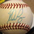 Nolan Ryan Autographed American League Baseball Sweet Spot Texas Rangers + 2 Facsimile Auto Balls