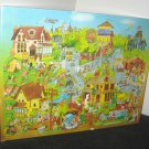 Pops Town 500 Piece Jigsaw Puzzle Springbok PZL4094 Robert Blair Bob Martin Hallmark COMPLETE