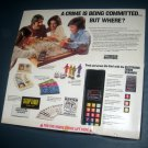 Vintage STOP THIEF Electronic Cops and Robbers Game Crime Scanner 1979 Complete Parker Brothers 3500
