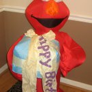 Elmo Happy Birthday Airblown Inflatable Gemmy Sesame Street Fan 4 Feet Tall Gift Hat