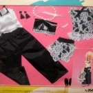 Totsy 815K Black & White 11 Inch Fashion Doll Outfits Clothes Clothing Barbie Sandi Ms Flair