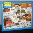 Charles Wysocki 1000 Piece Jigsaw Puzzle Lot Cider Brook Farms Ice Company 4 Sealed + 2 Complete