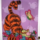 Tigger Spring Summer Flowers Decorative Garden Flag 28 x 40 Winnie the Pooh Butterfly