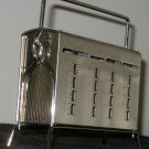 Vintage Metal Save and Have Coin Book Bank with Stand Key Standard Thrift Company Rockland Maine