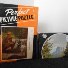 Vintage Jigsaw Puzzle Lot of 2 The Foundling Square Top Mountain Tuco Perfect Complete Round