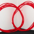 K'Nex Knex Red Track Tubing 54 Feet Total 27 x 2 Rippin Rocket Roller Coaster Replacement Parts