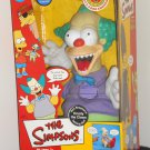 Bart Simpson's Krusty the Clown Talking Doll Good or Evil Treehouse of Horror NIB