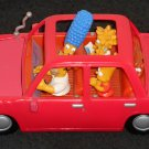 Homer Simpson Talking Family Car 140686 The Simpsons Marge Bart Lisa Maggie Playmates Toys 2001